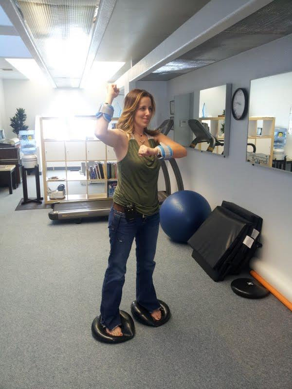 Learn to activate the correct muscle movement patterns